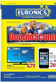 Volantino euronics a perugia offerte telefono orari punti for Volantino risparmio casa perugia
