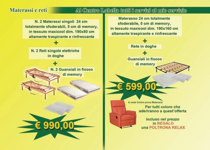 Offerte Materassi in lattice, negozi per arredare casa - PromoQui