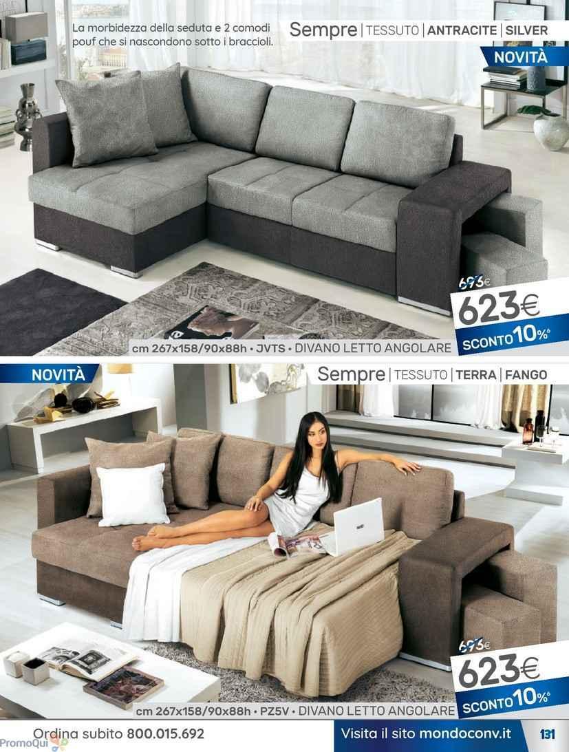 Divano letto 160 cm mondo convenienza divano letto con contenitore diotti auf arredamenti with - Divano william mondo convenienza ...