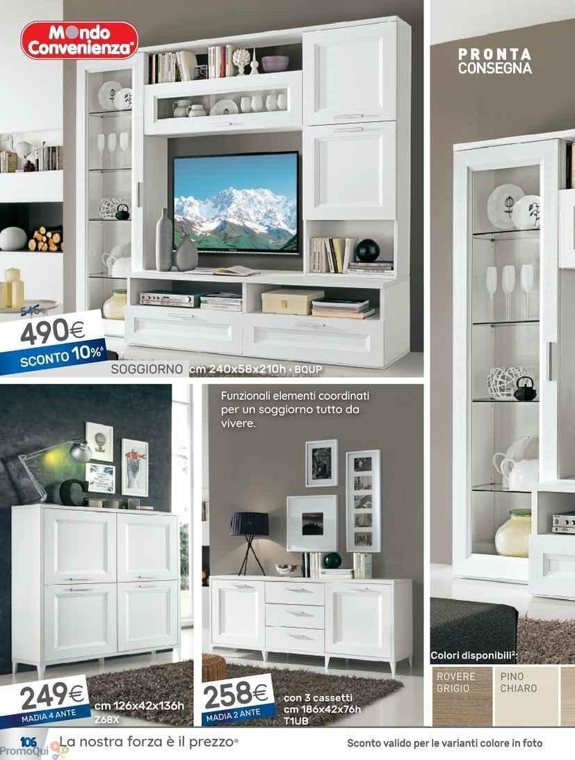 Awesome Soggiorno Mondo Convenienza Images - acrylicgiftware.us ...