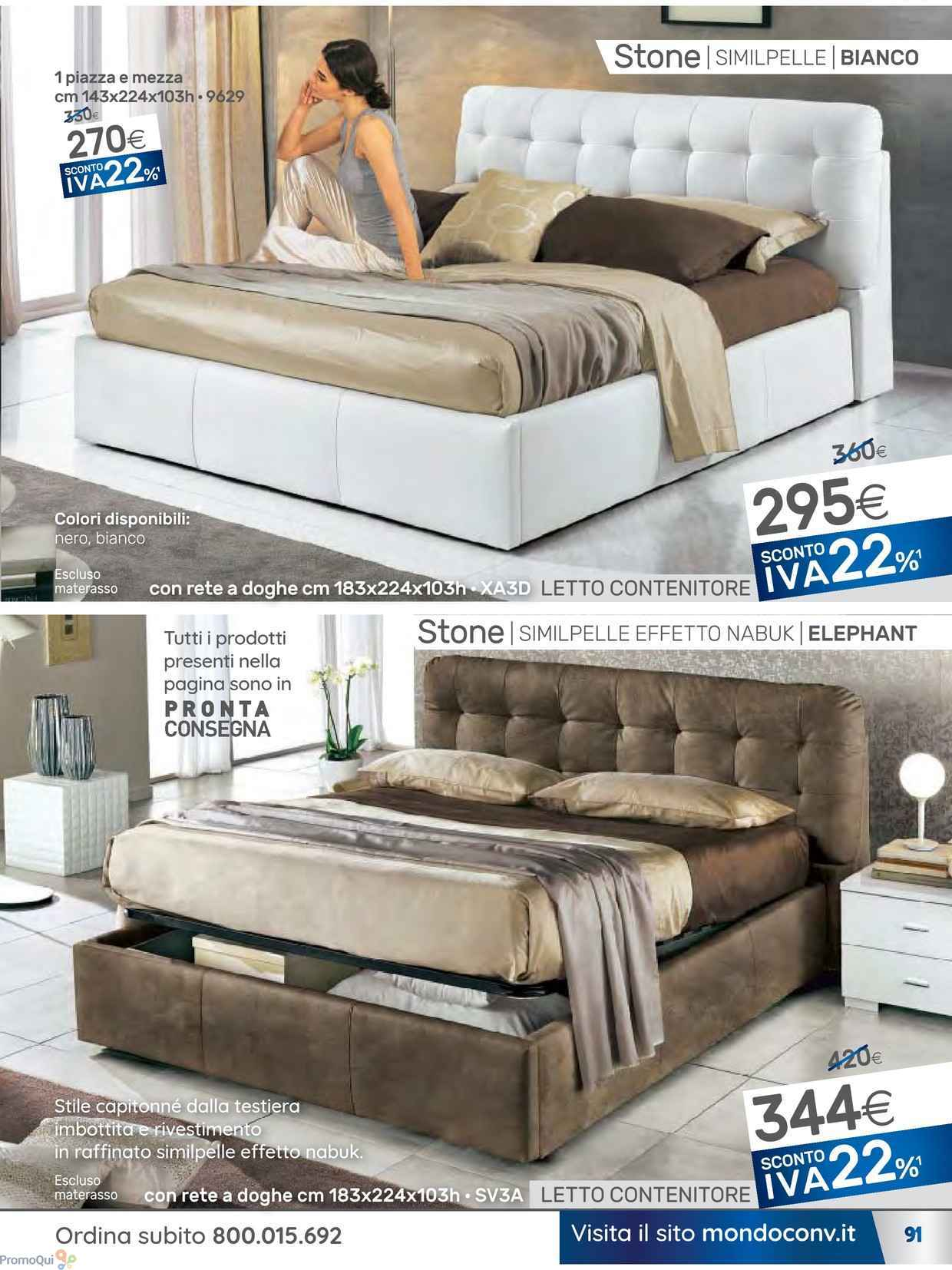 Materassi in lattice mondo convenienza cool best - Materassi per divano letto mondo convenienza ...