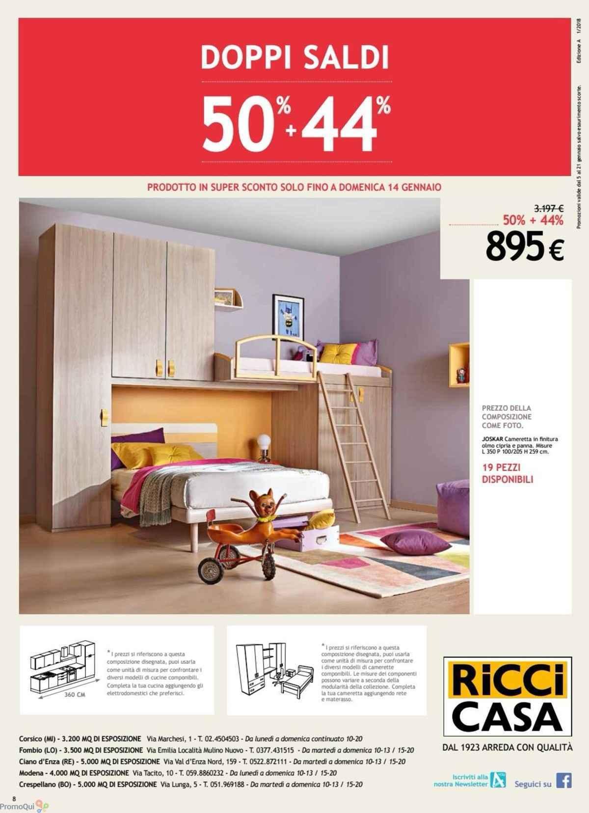 Ricci casa opinioni best cucine ricci casa opinioni gallery design u ideas with ricci casa - Ricci casa camere da letto ...
