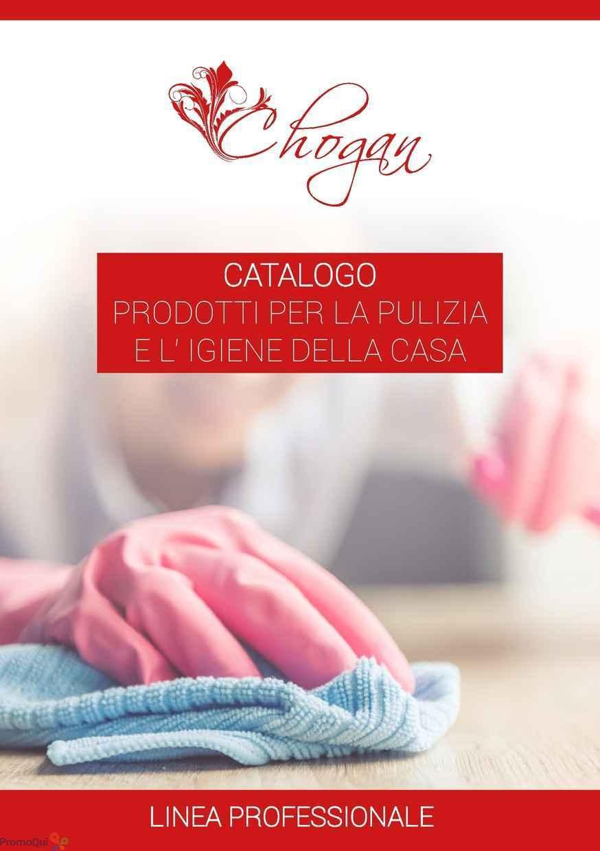 Volantino Chogan - Catalogo prodotti per la pulizia e l\'igiene della ...
