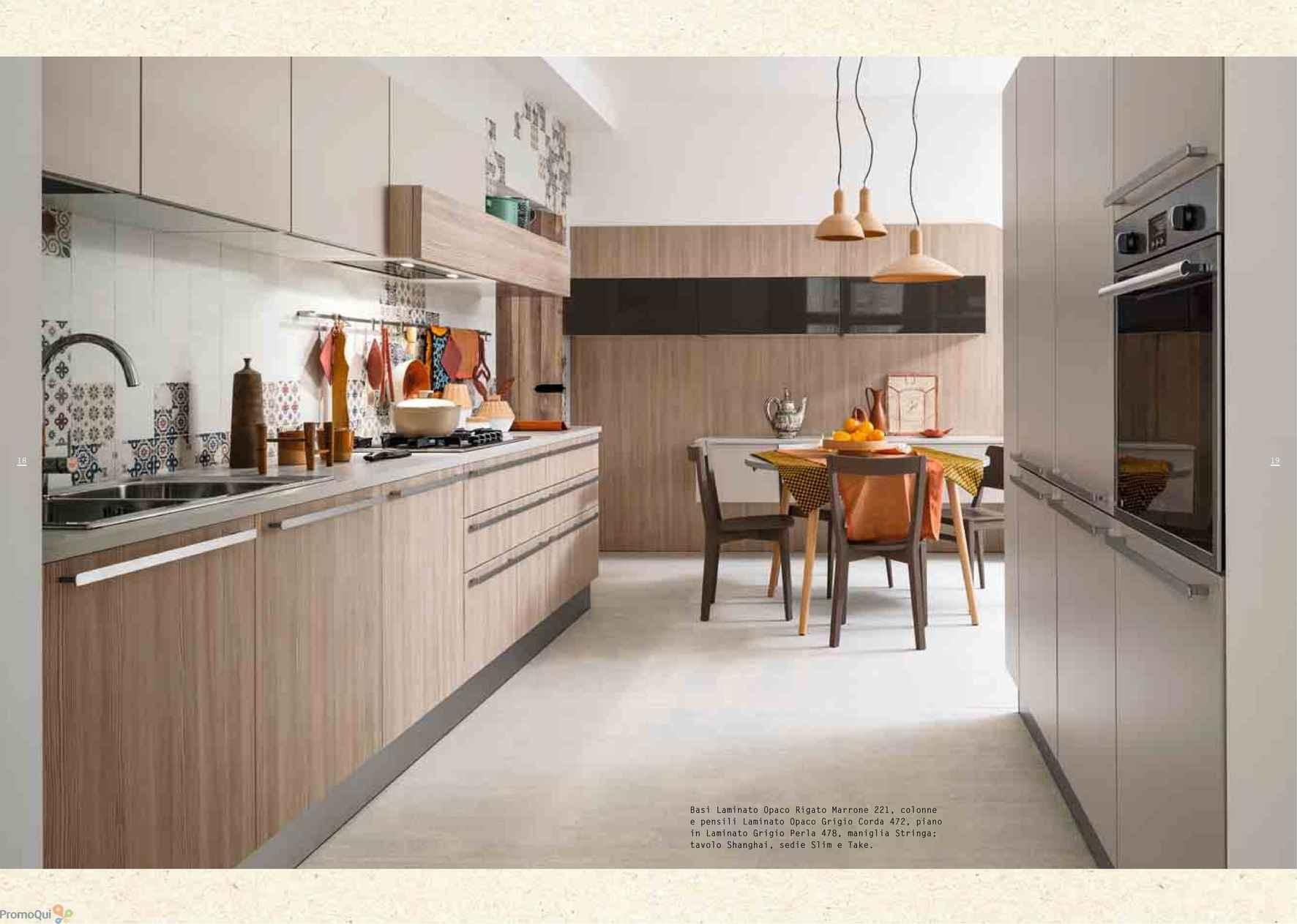 Volantino Veneta Cucine - Passione e Tempo - offerte Arredamento