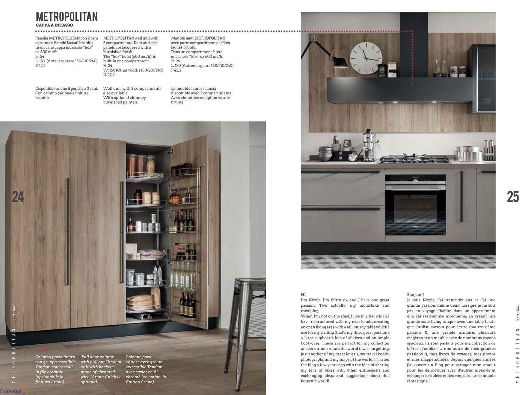 Volantino Veneta Cucine - Metropolitan - offerte Arredamento