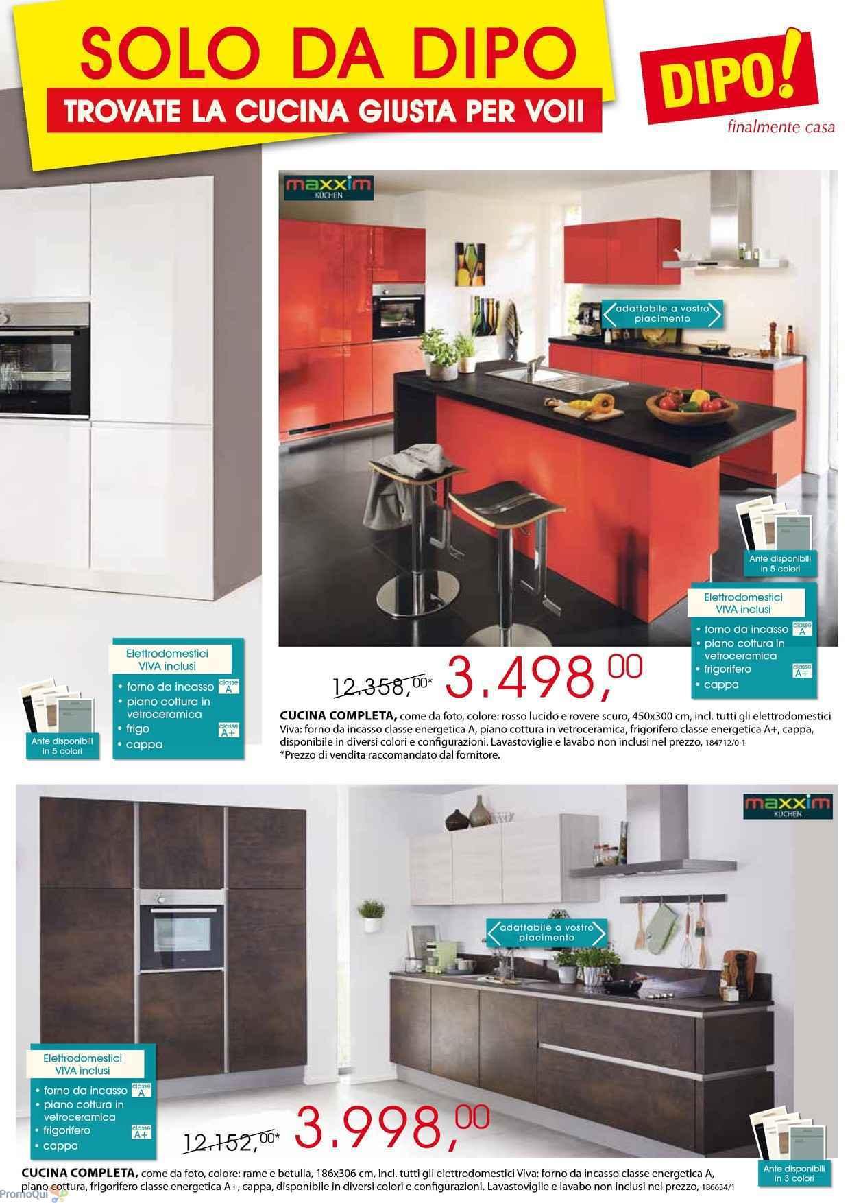 Volantino Dipo - Siamo i N°1 delle cucine con i migliori prezzi ...