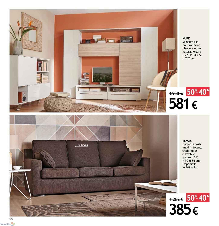 Volantino Ricci Casa - Saldi finali 50%+50% - offerte Arredamento
