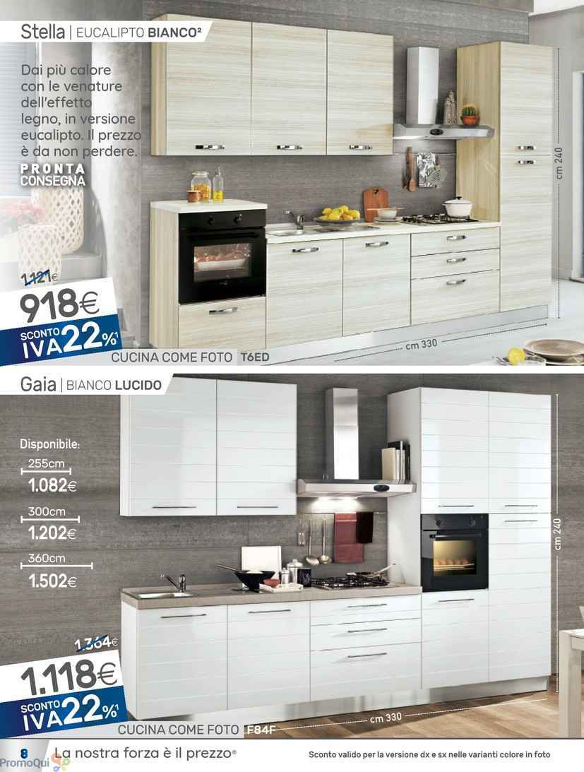 Volantino Mondo Convenienza - Cucine - offerte Arredamento