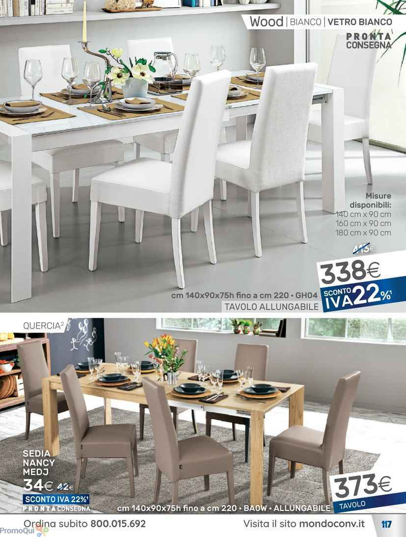 Tavolo Allungabile Mondo Convenienza - Decorating Interior Design ...
