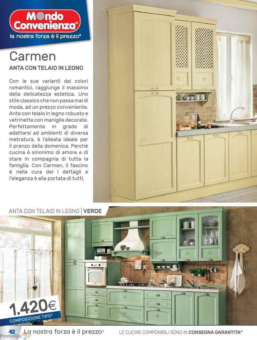 Emejing Mondo Convenienza Cucine Pronta Consegna Pictures - Design ...