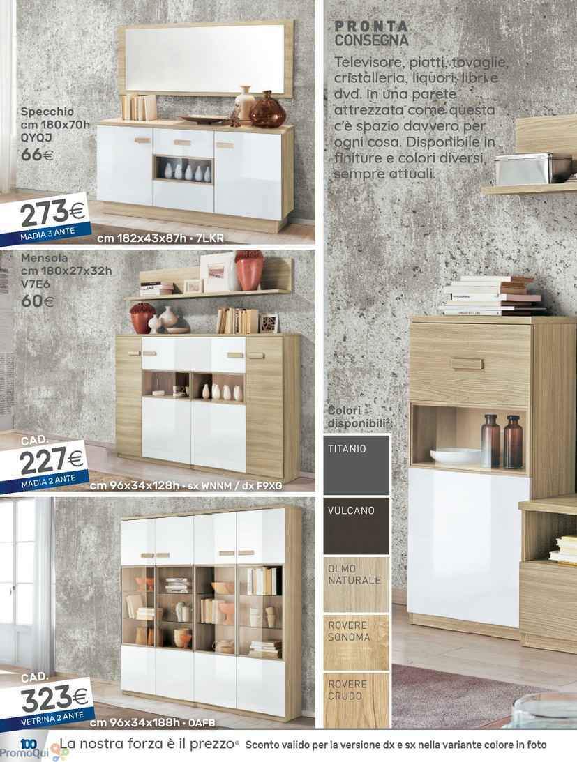 Emejing mondo convenienza parete attrezzata pictures for Volantino mondo convenienza cucine
