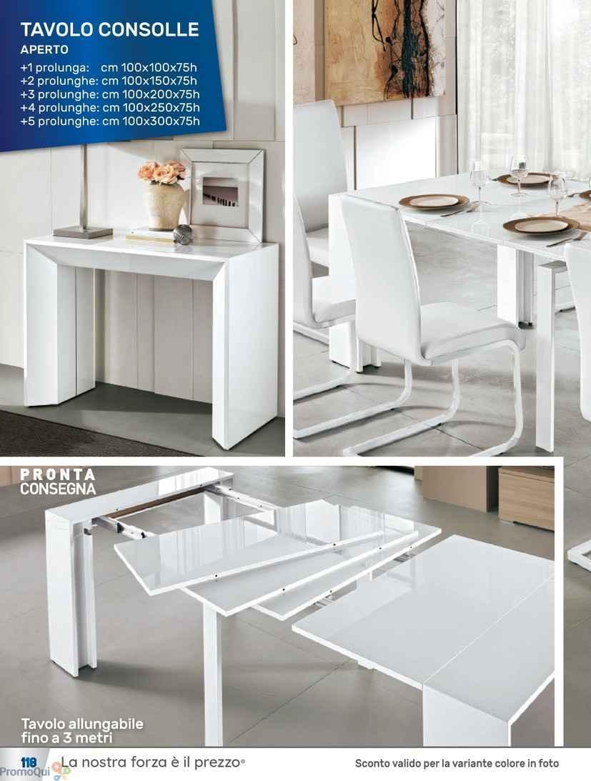 Stunning mondo convenienza tavolo allungabile images for Tavoli centro convenienza