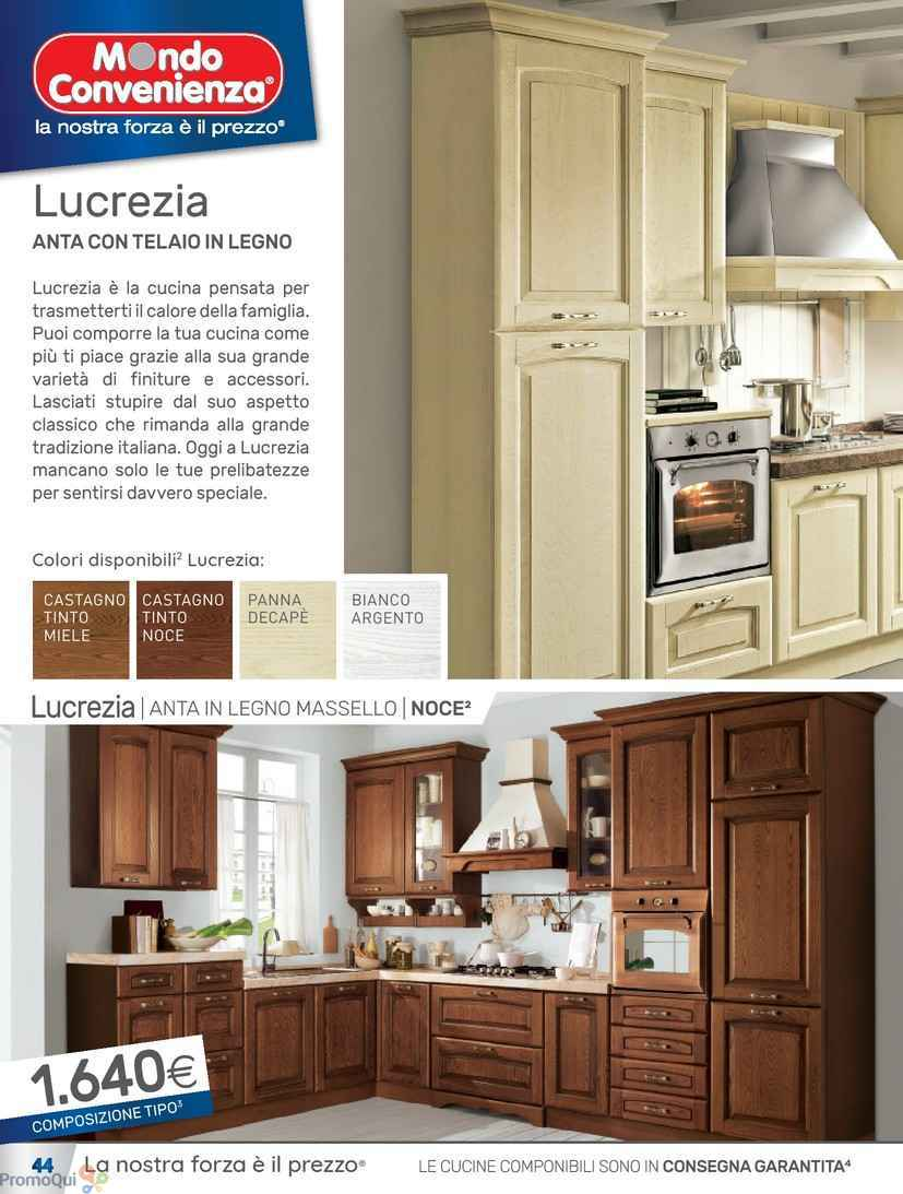 Awesome cucine mondo convenienza come sono ideas for Volantino mondo convenienza cucine