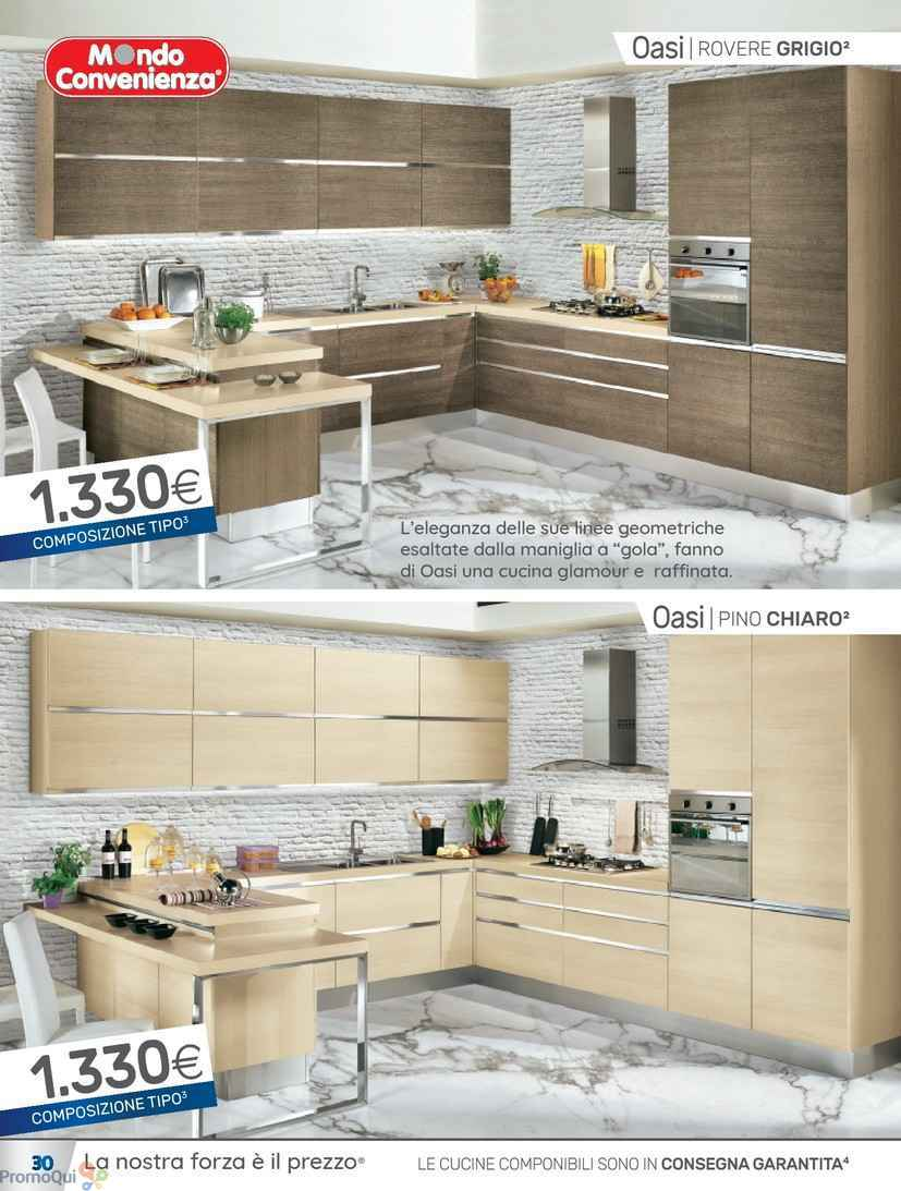 Beautiful mondo convenienza cucina oasi gallery home for Arredamento completo mondo convenienza 2017