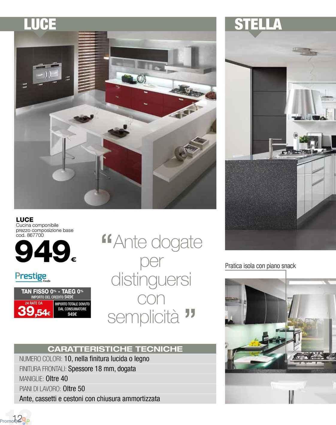 Beautiful Conforama Cucine In Offerta Contemporary - Ideas & Design ...