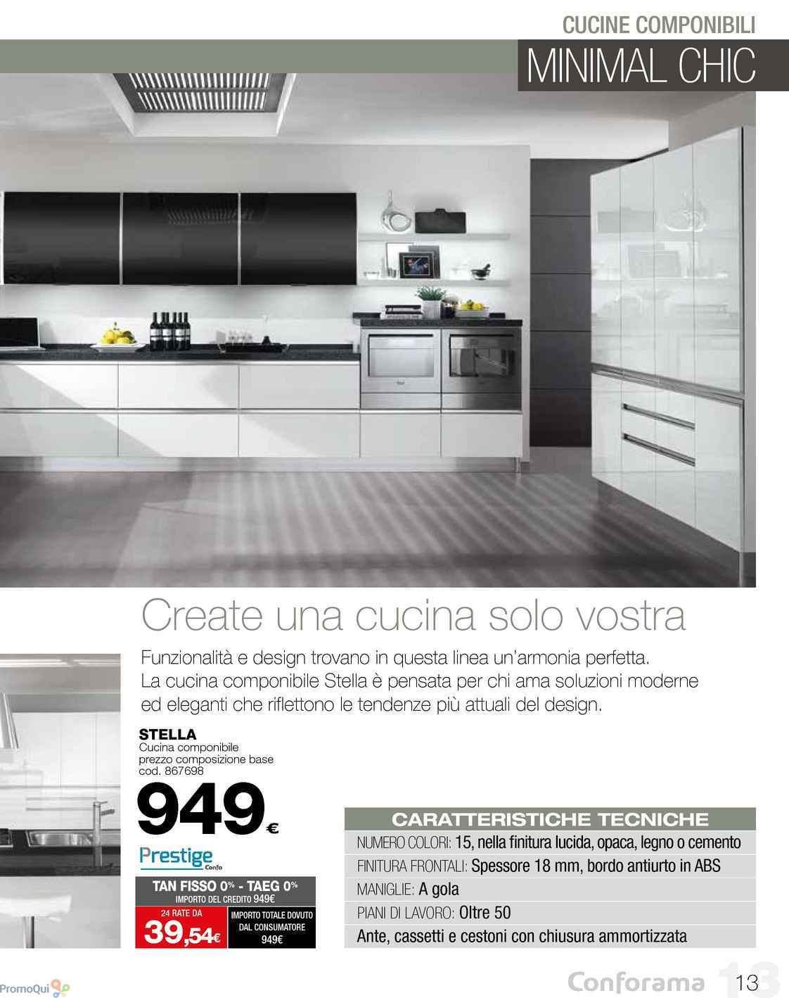 Beautiful Conforama Cucine In Offerta Contemporary - Ideas & Design ...