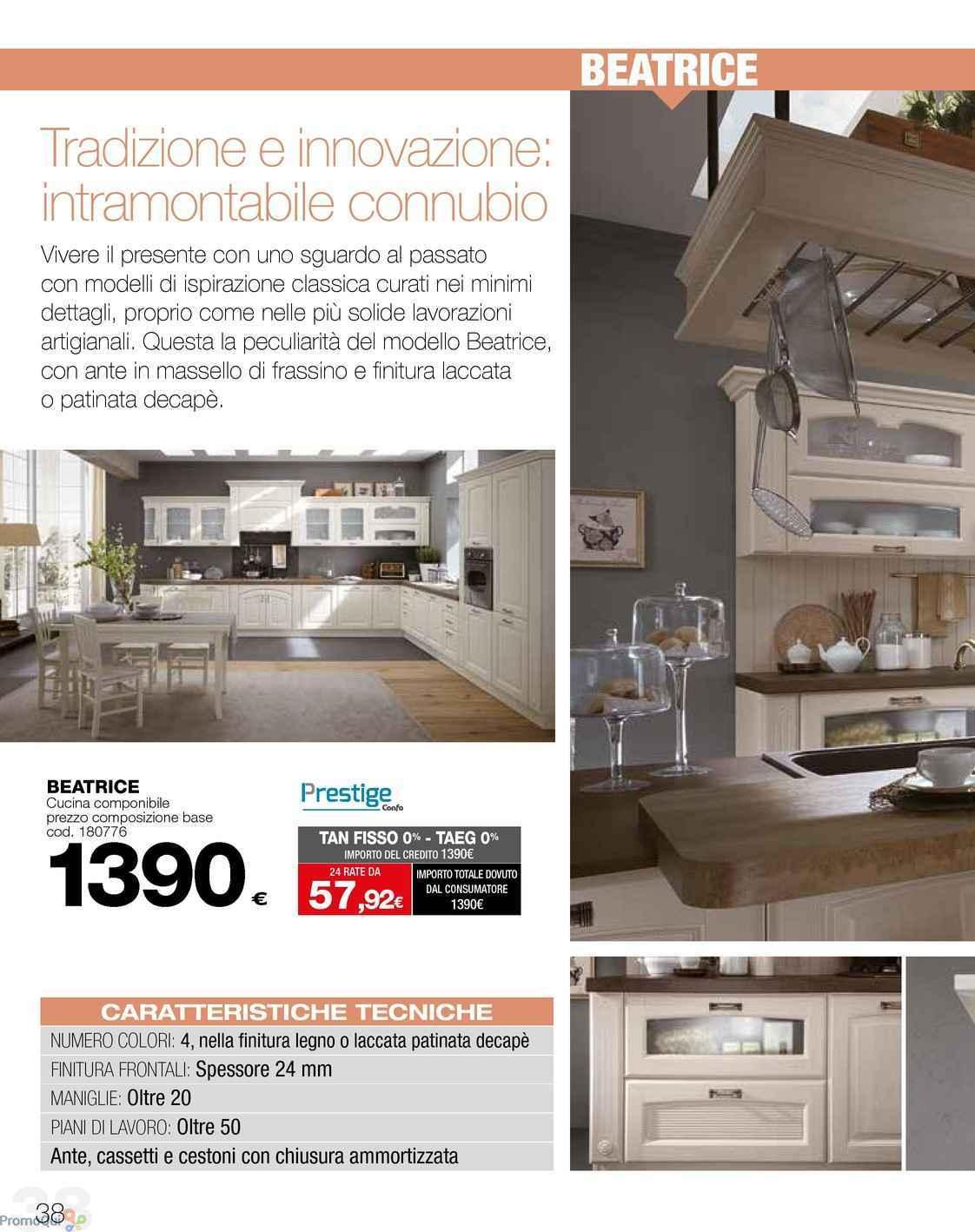 Volantino Conforama - Catalogo cucine 2018 - offerte Arredamento