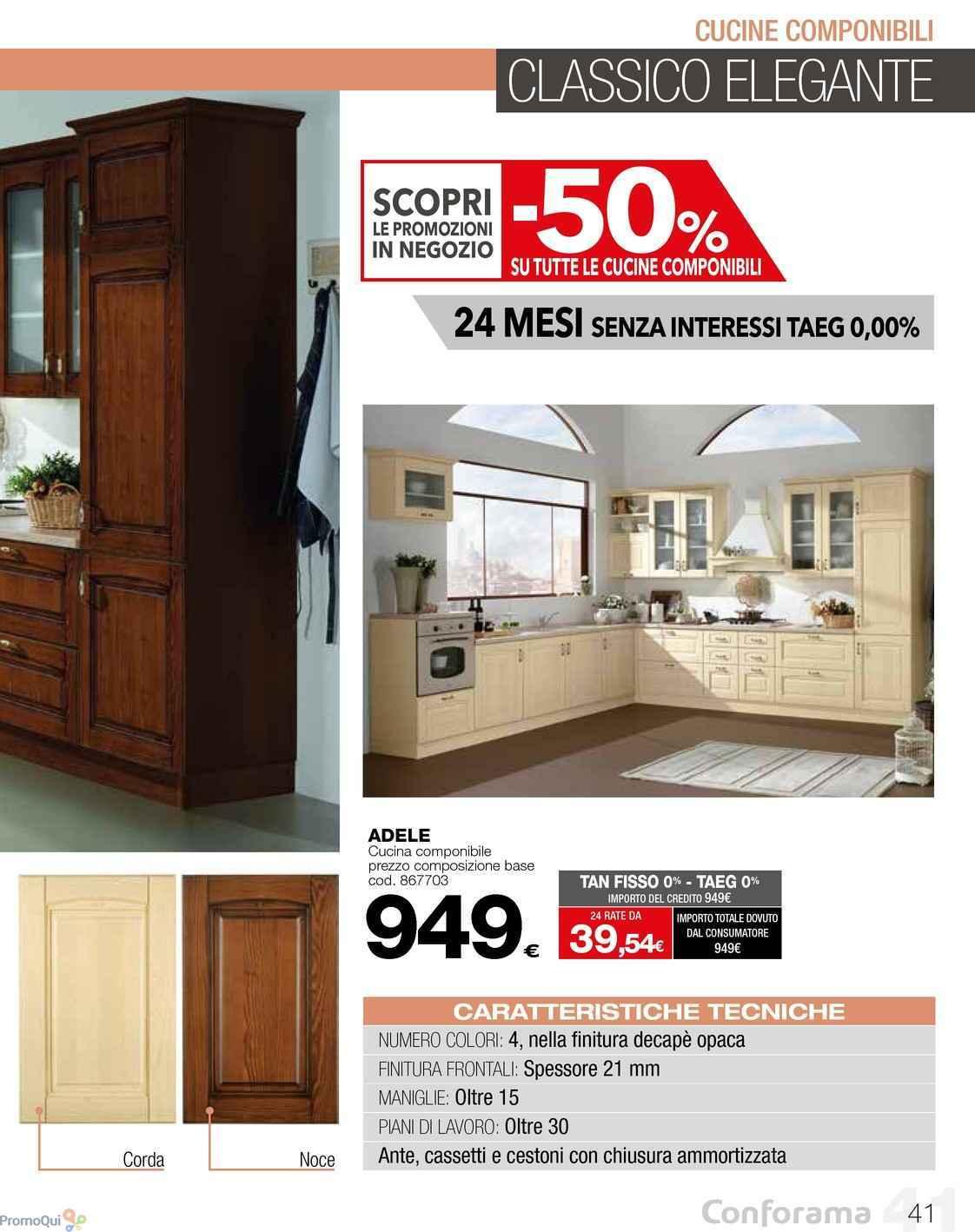 Stunning Conforama Cucine Prezzi Photos - Home Design - joygree.info