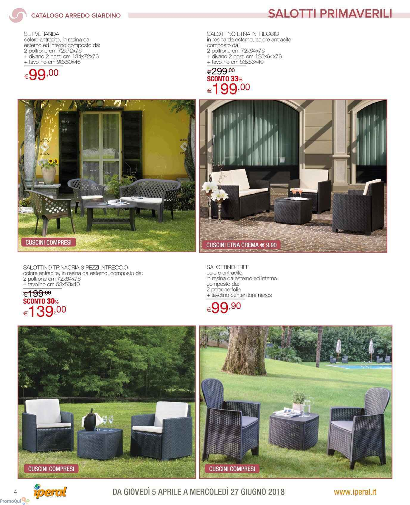 Emejing Offerte Arredo Giardino Contemporary - Modern Design Ideas ...