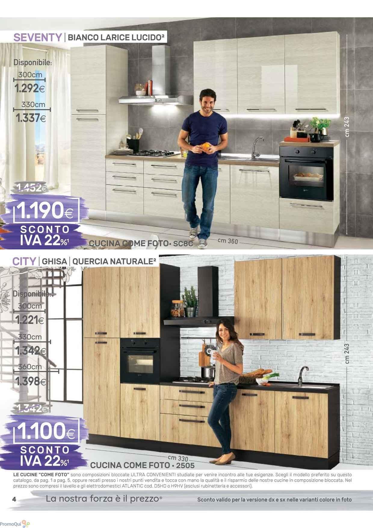 Stunning Cucine Mondo Convenienza Come Sono Gallery - Design & Ideas ...