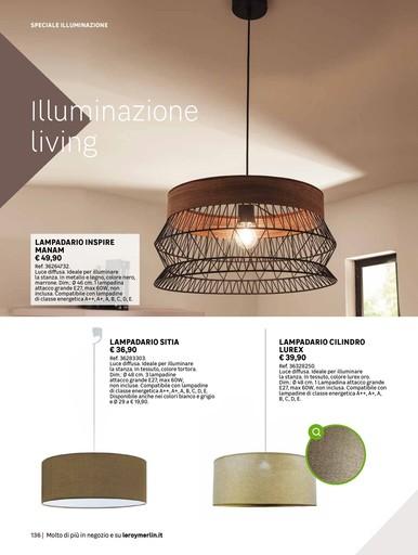 Offerte Lampadari a Torino nel volantino, prezzi negozio - PromoQui