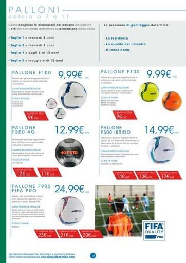 Offerte Pallone da calcio, shopping nel negozio PromoQui