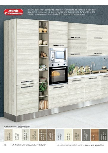 Arredamento cucine, promozioni e sconti in volantino arredo cucina