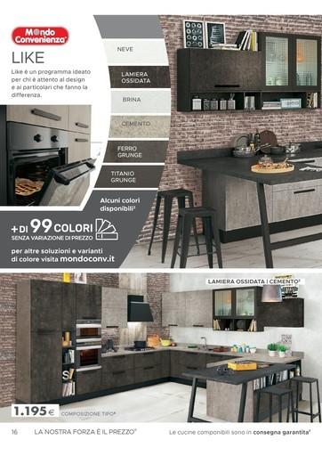Offerte Mondo convenienza cucine, negozi per arredare casa - PromoQui
