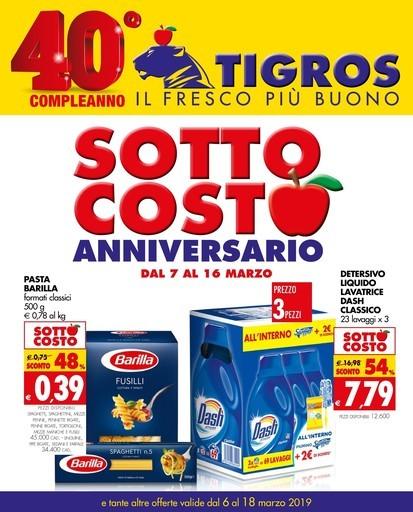 Volantino, offerte e negozi Tigros a Sassari e dintorni