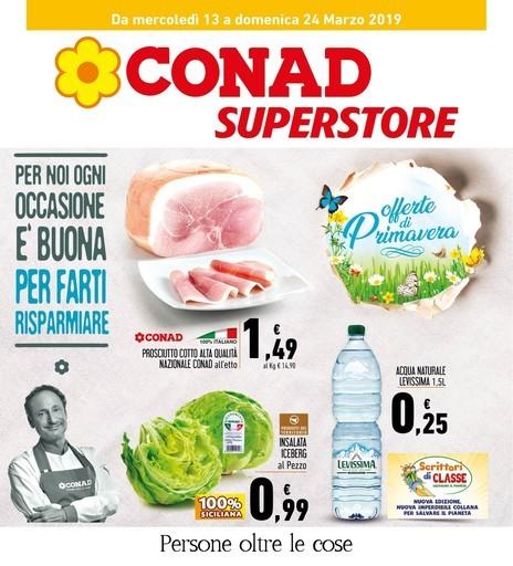 f5eda8983639 Volantino Conad Superstore a Palermo  offerte