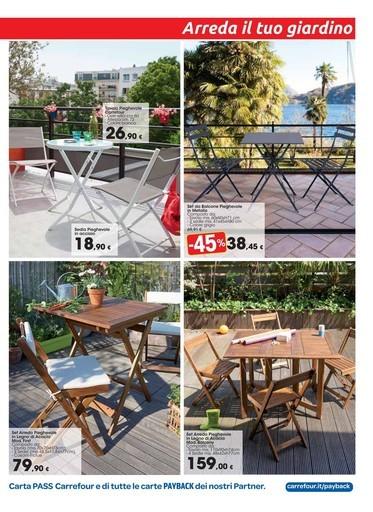 Sdraio Da Giardino Carrefour.Offerte Sedie Da Giardino Nel Volantino Prezzi Negozio Promoqui