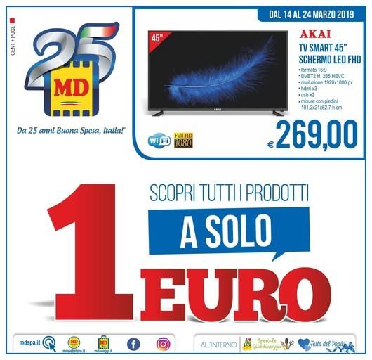 Volantino MD Discount a Manziana: offerte, negozi e orari