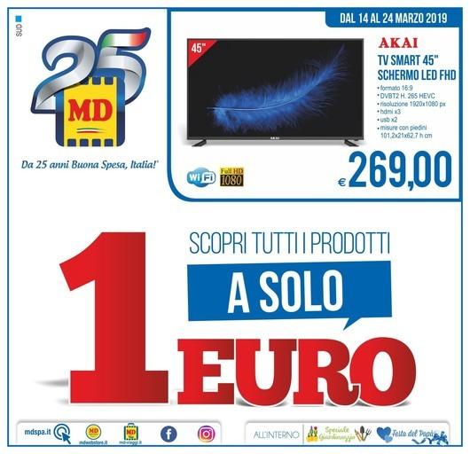 Volantino MD Discount a Caserta: offerte, negozi e orari