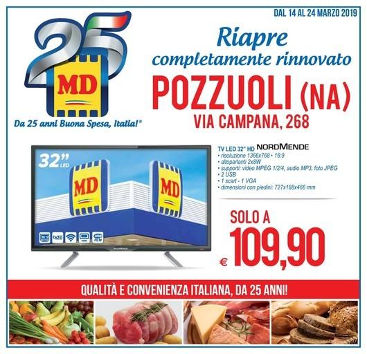 Volantino MD Discount a Napoli: offerte, negozi e orari