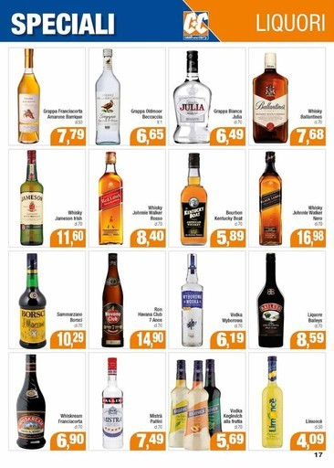Crema Di Liquore In Offerta Creme Di Liquore In Sconto Volantino
