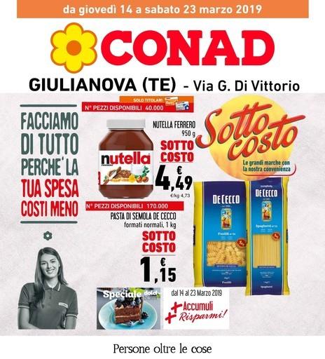5b38c65c26 Nuovo volantino Conad a Alba adriatica: offerte