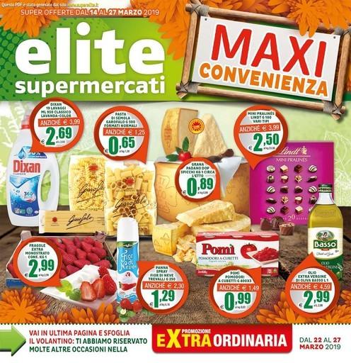 Volantino Elite a Roma: offerte, negozi e orari