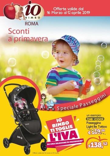 d430c628b3 Volantino Io Bimbo vicino Castel romano: offerte, negozi e orari
