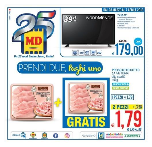 Volantino MD Discount vicino Ugento: offerte, negozi e orari