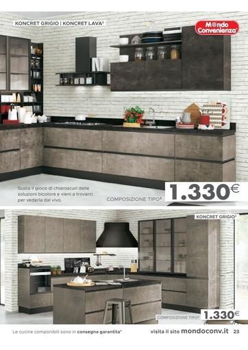 Offerte Mondo convenienza cucine, negozi per arredare casa ...