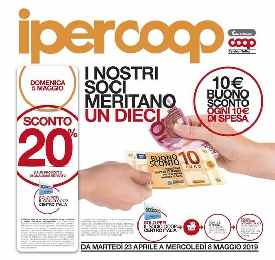 Ipercoop Sedie A Sdraio.Volantino Ipercoop Offerte
