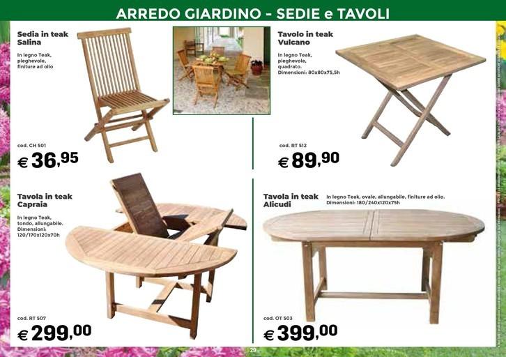 Tavoli Da Giardino Bologna.Offerte Tavoli Da Giardino Nel Volantino Prezzi Negozio