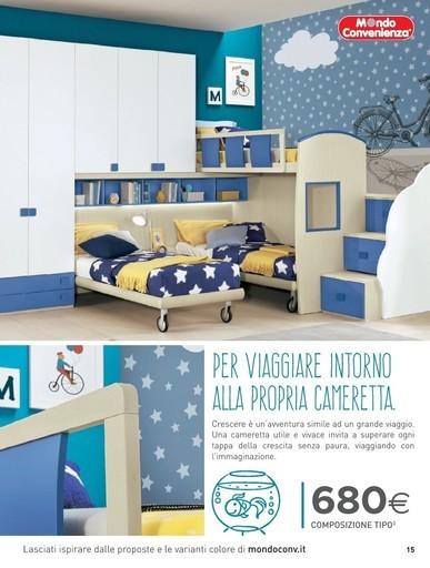 Progettare Cameretta Mondo Convenienza.Camerette Firenze In Offerta Camerette Per Bambini In Sconto Volantino