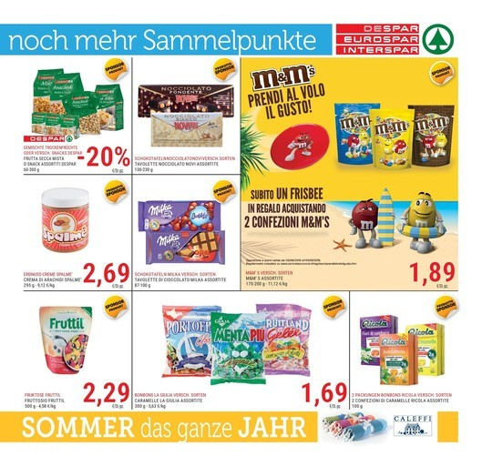 Calendario Avvento Mms.Offerte M M S Nel Volantino Di Iper Supermercati Promoqui