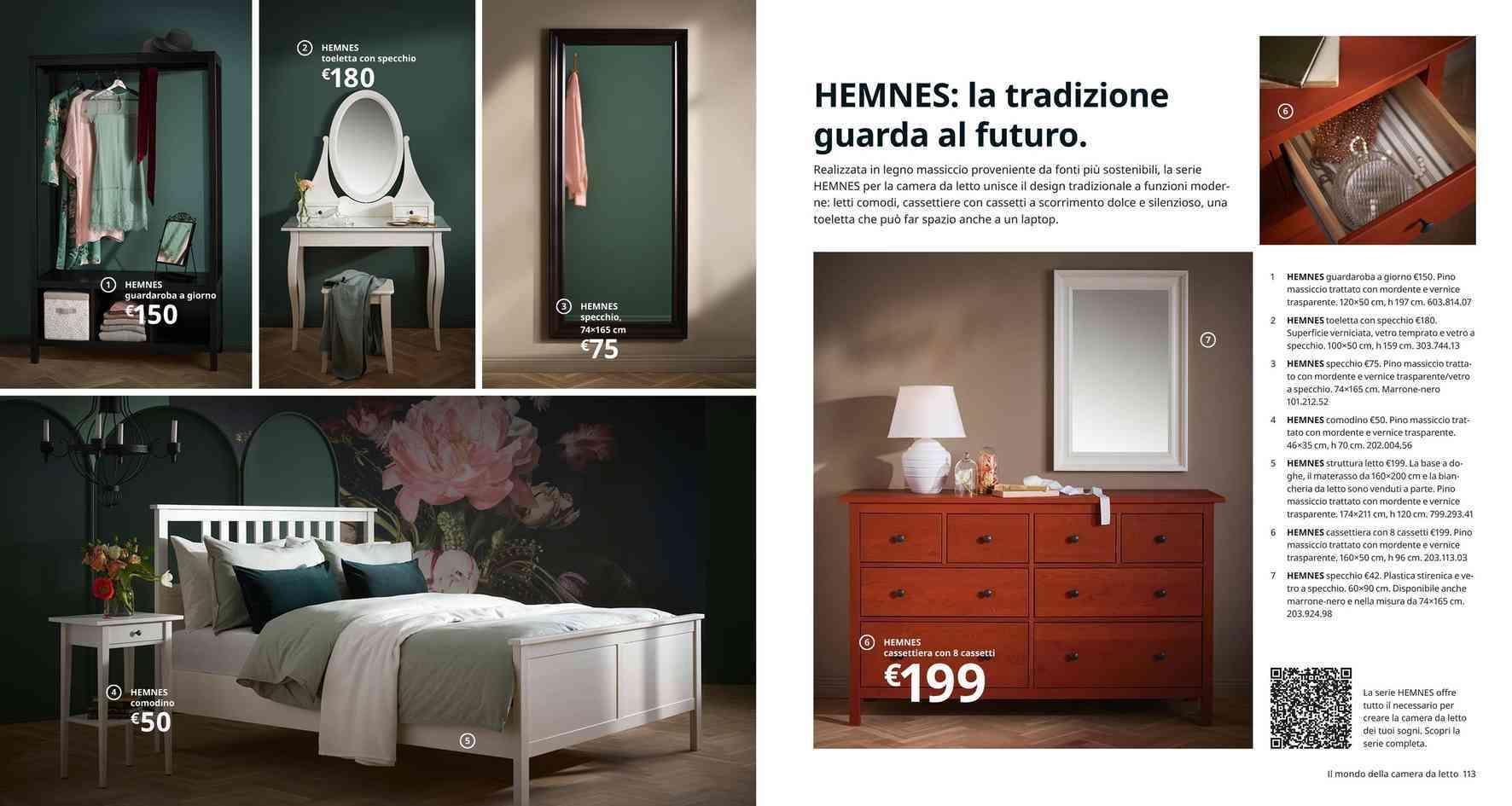 Ikea Hemnes Cassettiera Rossa.Offerta Camera Da Letto Osimo Camera Da Letto Moderna In Sconto