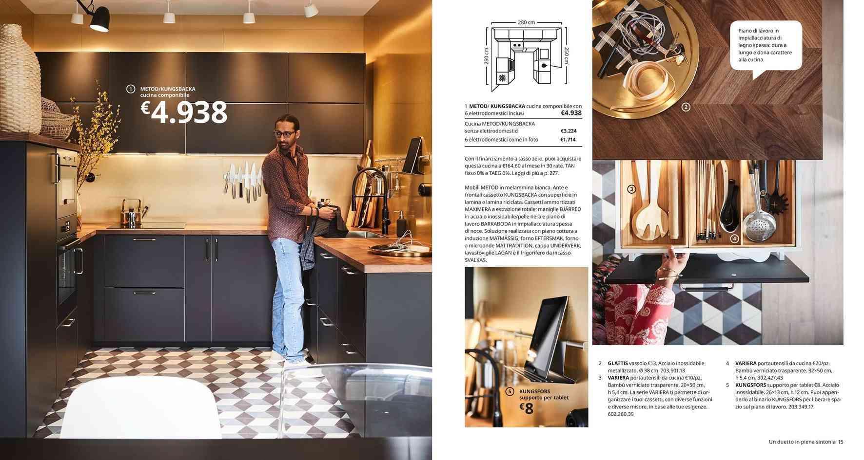 Cucina Bianca E Nera Ikea offerte cucine componibili a macerata, negozi per arredare