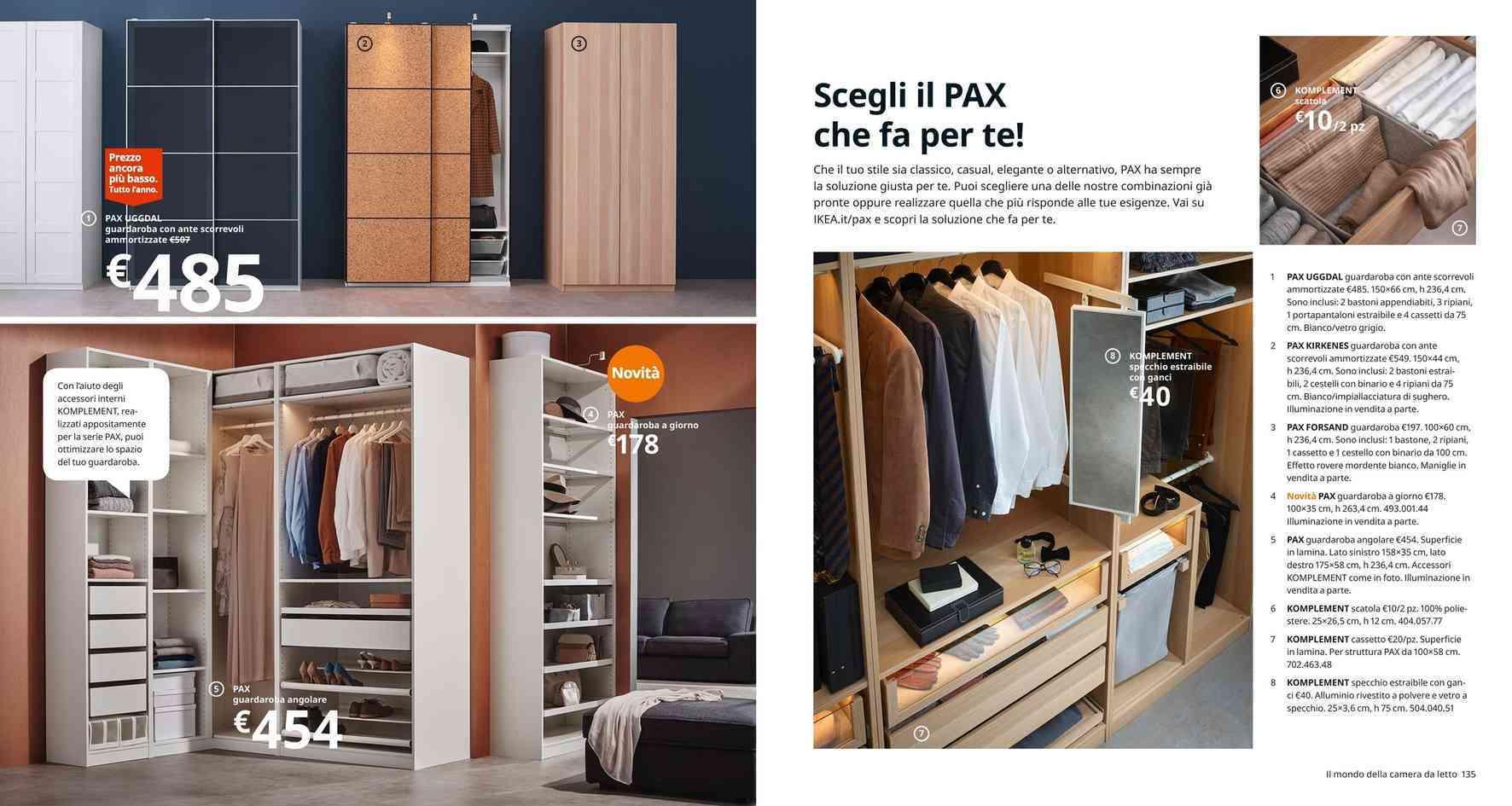 Ikea Pax Guardaroba 2 Ante.Offerte Guardaroba Negozi Per Arredare Casa Promoqui