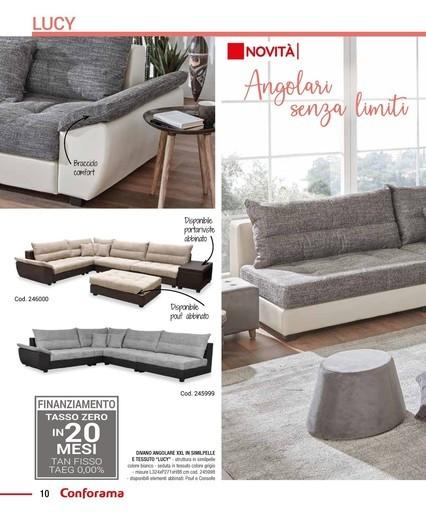 Offerte pouf negozi per arredare casa promoqui for Divano xxl conforama