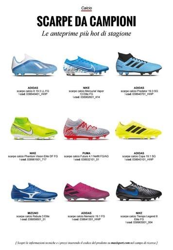 Offerte Scarpe da calcio, shopping nel negozio PromoQui