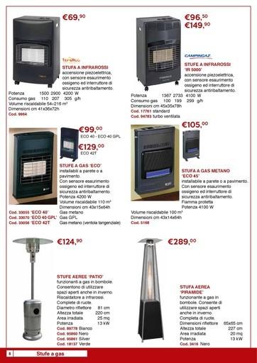 Offerte Stufe a gas nel volantino, prezzi negozio - PromoQui